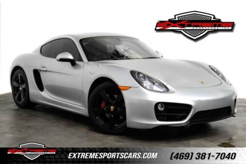 2015 Porsche Cayman for sale at EXTREME SPORTCARS INC in Carrollton TX