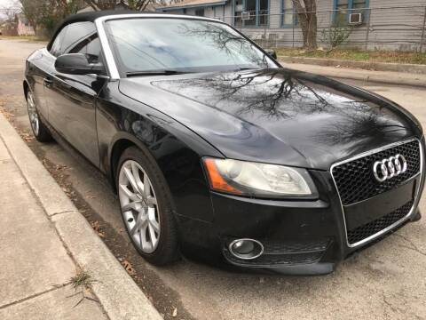 2010 Audi A5 for sale at Carzready in San Antonio TX