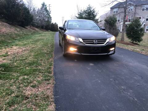 2015 Honda Accord for sale at Economy Auto Sales in Dumfries VA