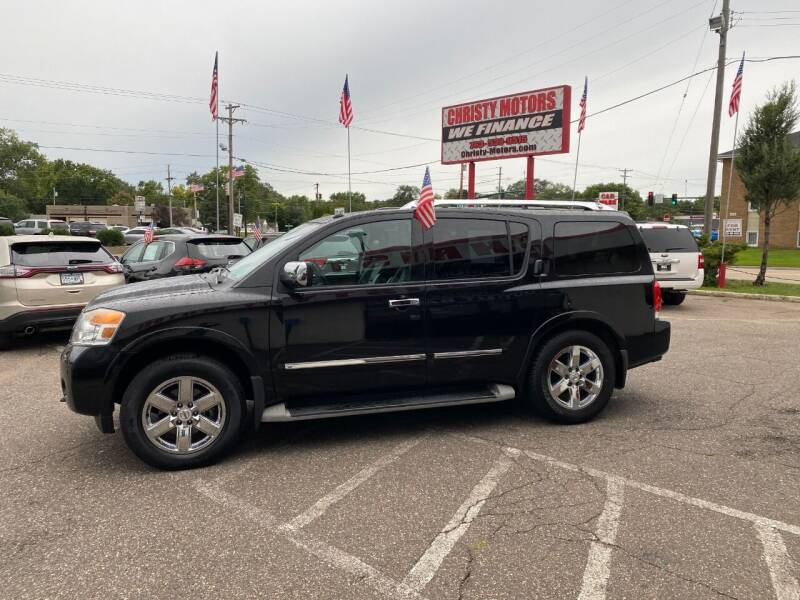 2010 Nissan Armada for sale at Christy Motors in Crystal MN