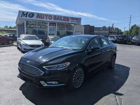 2017 Ford Fusion for sale at Mo Auto Sales in Fairfield OH