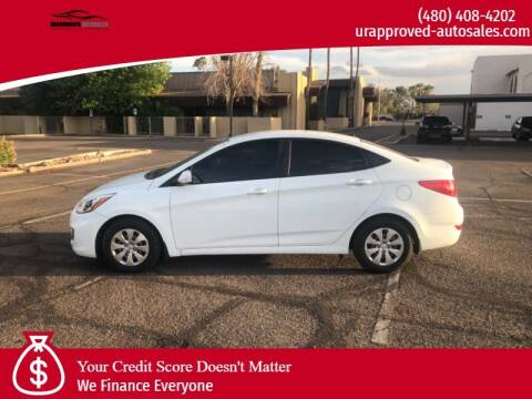 2016 Hyundai Accent for sale at UR APPROVED AUTO SALES LLC in Tempe AZ