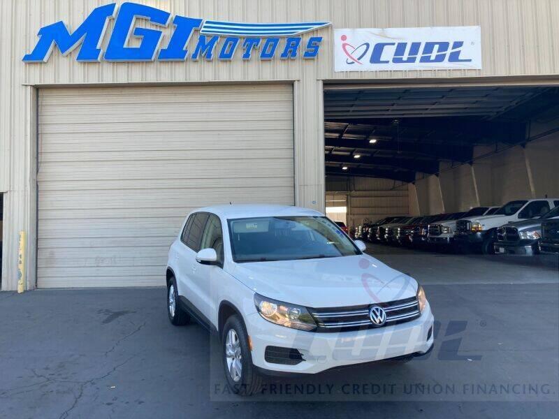 2012 Volkswagen Tiguan for sale at MGI Motors in Sacramento CA