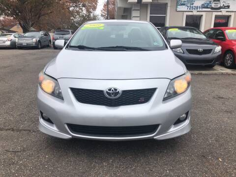 2009 Toyota Corolla for sale at Advantage Motors in Newport News VA
