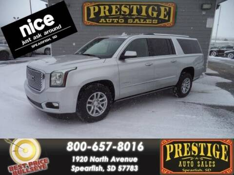 2016 GMC Yukon XL for sale at PRESTIGE AUTO SALES in Spearfish SD