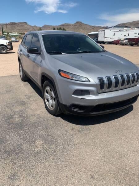 2015 Jeep Cherokee for sale at Poor Boyz Auto Sales in Kingman AZ