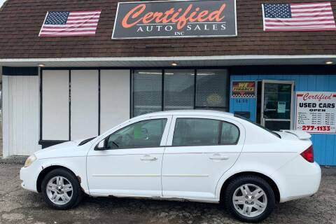 2005 Chevrolet Cobalt for sale at Certified Auto Sales, Inc in Lorain OH