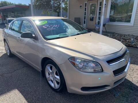 2011 Chevrolet Malibu for sale at G & G Auto Sales in Steubenville OH