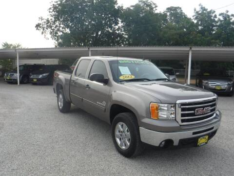 2012 GMC Sierra 1500 for sale at Bostick's Auto & Truck Sales in Brownwood TX