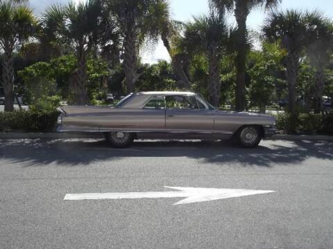 1962 Cadillac DeVille for sale at Classic Car Deals in Cadillac MI