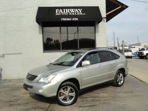 2007 Lexus RX 400h for sale at FAIRWAY AUTO SALES, INC. in Melrose Park IL