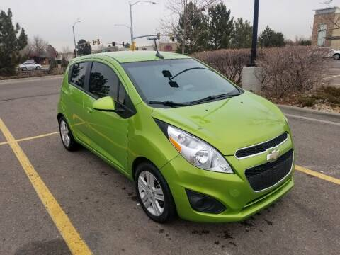 2014 Chevrolet Spark for sale at Red Rock's Autos in Denver CO