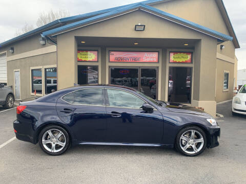 2007 Lexus IS 250 for sale at Advantage Auto Sales in Garden City ID
