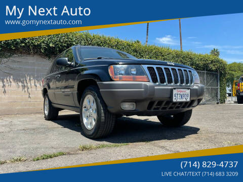 2001 Jeep Grand Cherokee for sale at My Next Auto in Anaheim CA