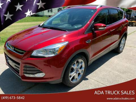 2015 Ford Escape for sale at Ada Truck Sales in Ada OH