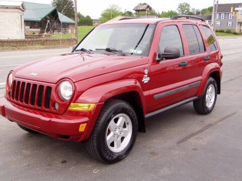 2007 Jeep Liberty for sale at The Autobahn Auto Sales & Service Inc. in Johnstown PA