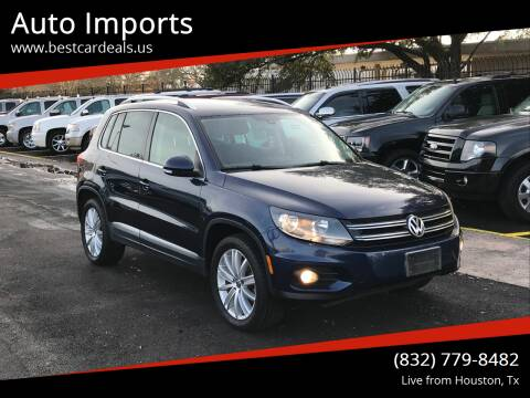 2012 Volkswagen Tiguan for sale at Auto Imports in Houston TX