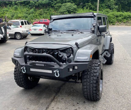 2008 Jeep Wrangler Unlimited for sale at Lakewood Auto in Waterbury CT