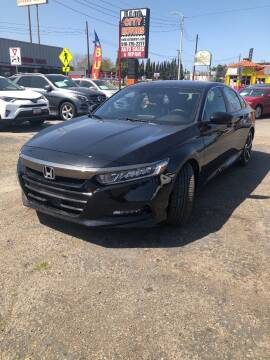 2018 Honda Accord for sale at City Motors in Hayward CA