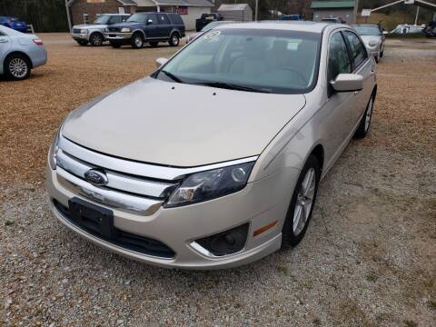 2010 Ford Fusion for sale at Scarletts Cars in Camden TN