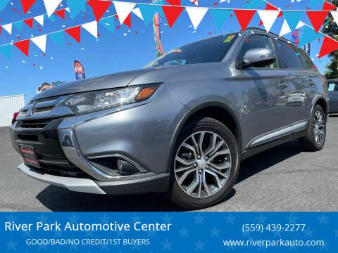 2016 Mitsubishi Outlander for sale at River Park Automotive Center in Fresno CA