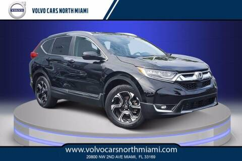 2017 Honda CR-V for sale at Volvo Cars North Miami in Miami FL
