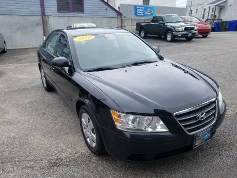 2010 Hyundai Sonata for sale at Fortier's Auto Sales & Svc in Fall River MA