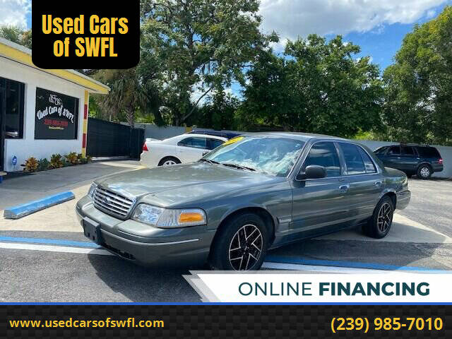 2003 Ford Crown Victoria for sale at Used Cars of SWFL in Fort Myers FL