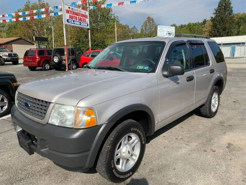 2003 Ford Explorer for sale at INTERNATIONAL AUTO SALES LLC in Latrobe PA