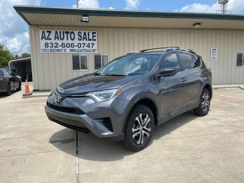 2017 Toyota RAV4 for sale at AZ Auto Sale in Houston TX