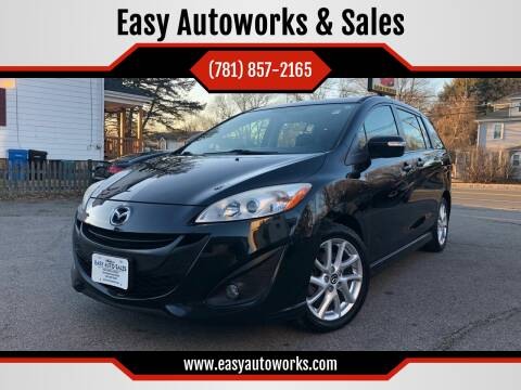 2013 Mazda MAZDA5 for sale at Easy Autoworks & Sales in Whitman MA