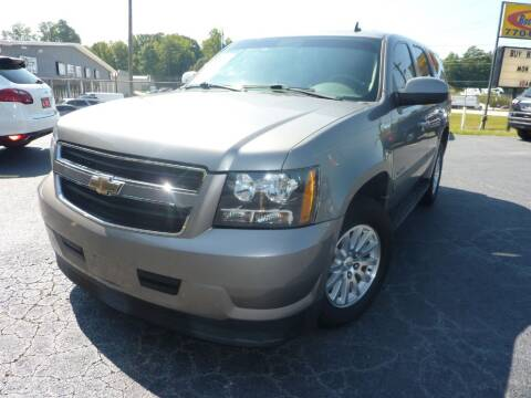 2008 Chevrolet Tahoe for sale at Roswell Auto Imports in Austell GA