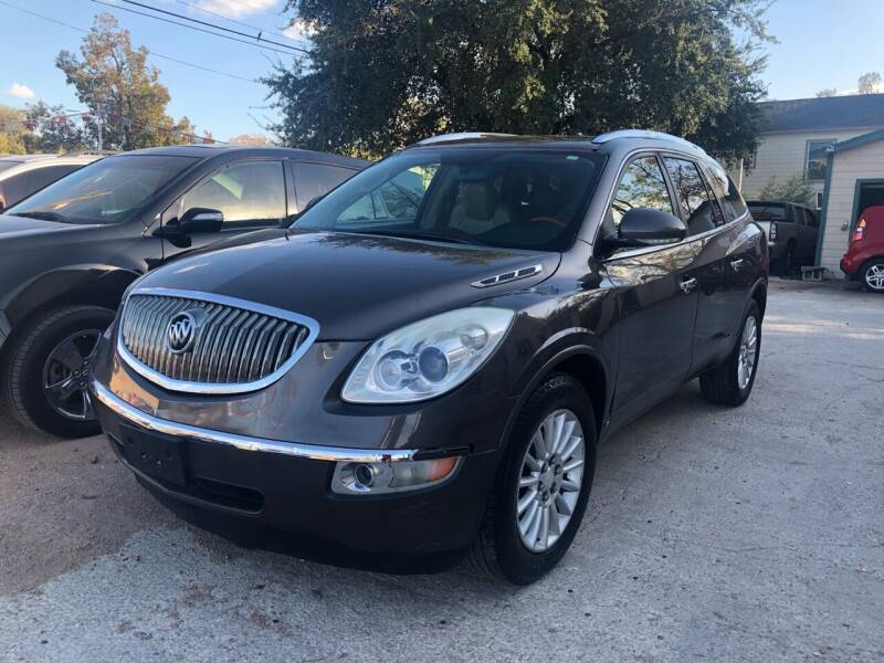 2009 Buick Enclave for sale at S & J Auto Group in San Antonio TX
