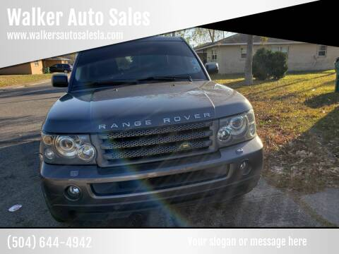 2006 Land Rover Range Rover Sport for sale at Walker Auto Sales and Towing in Marrero LA