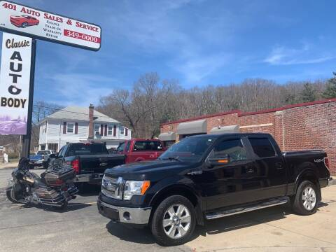2010 Ford F-150 for sale at 401 Auto Sales & Service in Smithfield RI