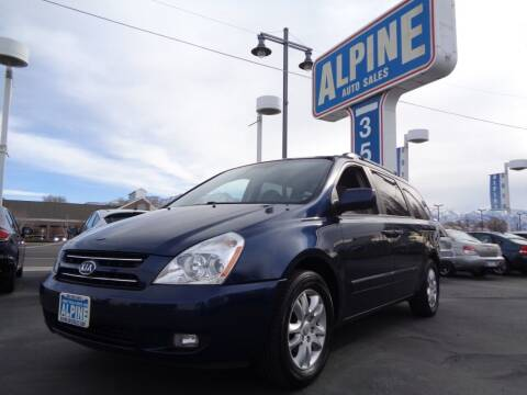 2006 Kia Sedona for sale at Alpine Auto Sales in Salt Lake City UT