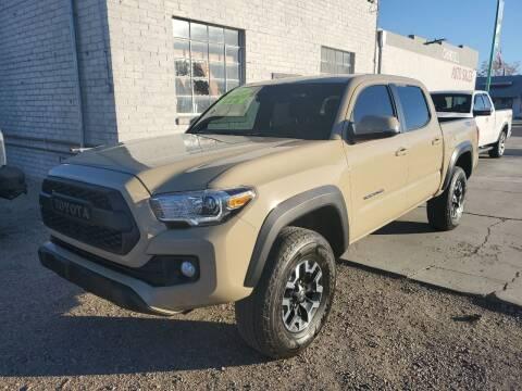 2018 Toyota Tacoma for sale at CHURCHILL AUTO SALES in Fallon NV