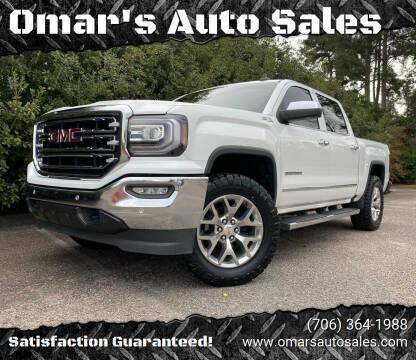 2018 GMC Sierra 1500 for sale at Omar's Auto Sales in Martinez GA