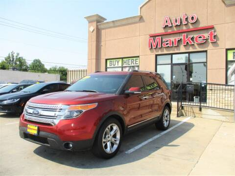 2014 Ford Explorer for sale at Auto Market in Oklahoma City OK
