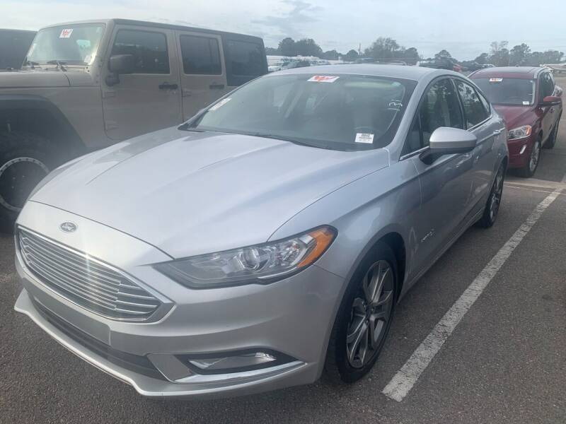 2017 Ford Fusion Hybrid for sale at Drive Now Motors in Sumter SC