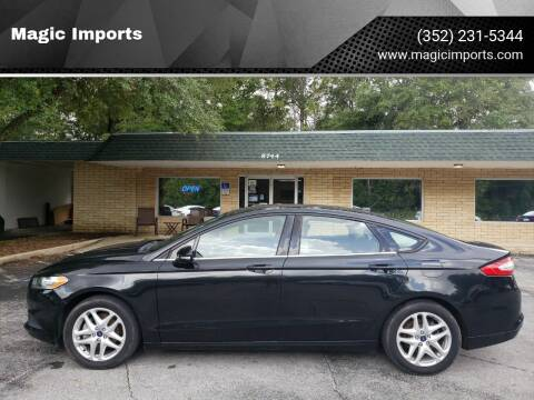 2013 Ford Fusion for sale at Magic Imports in Melrose FL
