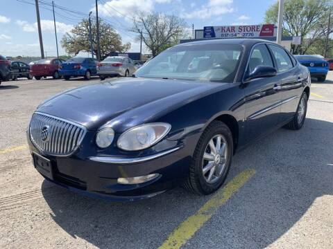 2009 Buick LaCrosse for sale at The Kar Store in Arlington TX
