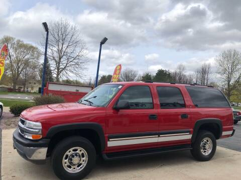 2001 Chevrolet Suburban for sale at TNT Motor Sales in Oregon IL