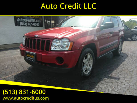 2006 Jeep Grand Cherokee for sale at Auto Credit LLC in Milford OH