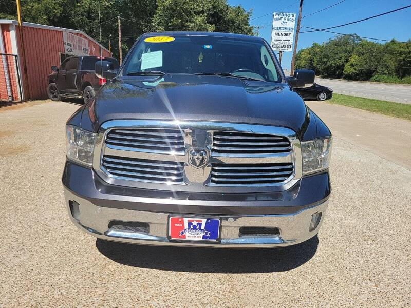 2017 RAM Ram Pickup 1500 for sale at MENDEZ AUTO SALES in Tyler TX