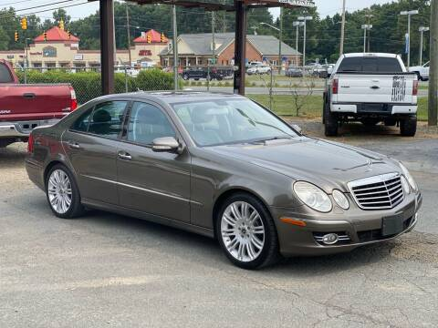 2008 Mercedes-Benz E-Class for sale at EMH Imports LLC in Monroe NC
