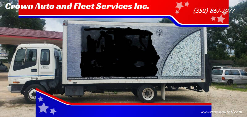 2001 Isuzu FRR for sale at Crown Auto and Fleet Services Inc. in Ocala FL