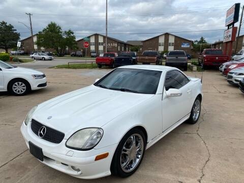 2002 Mercedes-Benz SLK for sale at Car Gallery in Oklahoma City OK