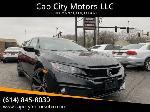 2019 Honda Civic for sale at Cap City Motors LLC in Columbus OH