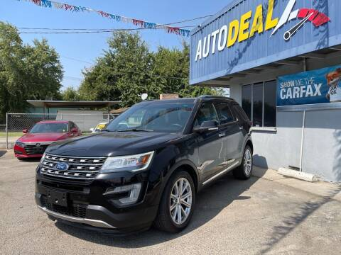 2017 Ford Explorer for sale at Autodealz of Fresno in Fresno CA